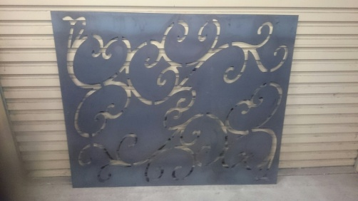 Metal Art - Wall Art Swirls