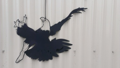 Metal Art - Eagle Wall Image