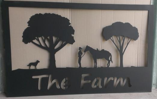 Metal Art - The Farm