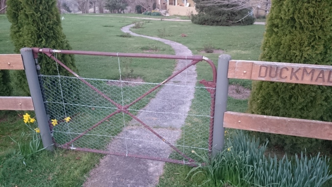 Metal Art - Have your old gates rewired and straightened