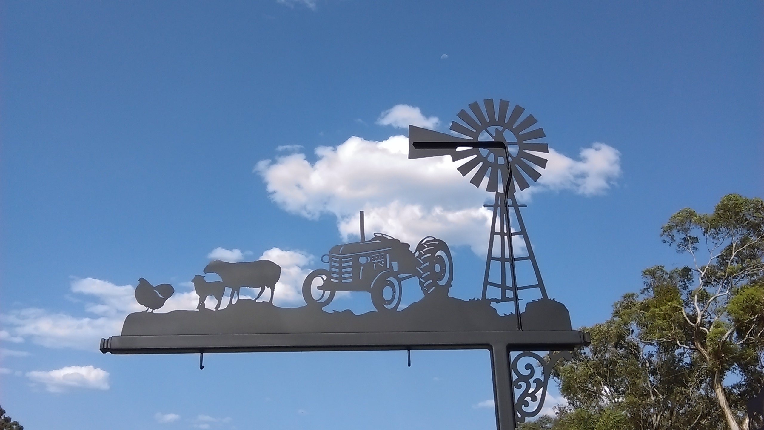 Metal Art Sign Posts Fish River Metal Creations
